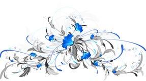 Blaue Blumen. Stockfotografie