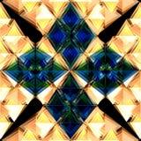 Blaue Blumensteine Stockfotografie