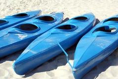 Blaue Boote Lizenzfreie Stockfotografie