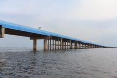 Blaue Brücke Stockbilder