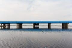 Blaue Brücke Lizenzfreie Stockfotos