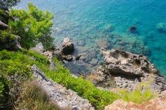 Blaue Bucht Stockfoto