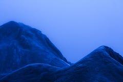 Blaue Dünen Lizenzfreie Stockfotografie