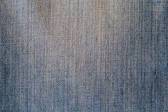 Blaue Denimgewebenahaufnahme Stockbilder