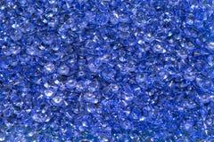 Blaue Diamanten Lizenzfreie Stockfotografie