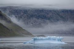 Blaue Eisberge in Grönland Lizenzfreie Stockbilder