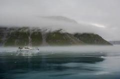 Blaue Eisberge in Grönland Stockfoto