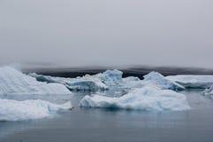 Blaue Eisberge Narsarsuaq Lizenzfreies Stockbild