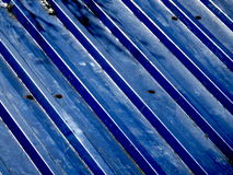 Blaue Eisenplatte Lizenzfreie Stockbilder