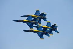 Blaue Engel Airshow Lizenzfreie Stockfotos