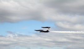 Blaue Engel 2 herauf 2 unten Lizenzfreie Stockfotos