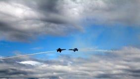 Blaue Engels-naher Durchlauf Stockfoto