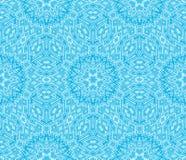 Blaue Escher Grafik Lizenzfreie Stockfotografie