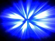 Blaue Explosion Stockbilder