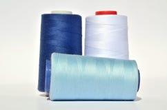 Blaue Faden Stockfotografie