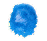 Blaue Farbenstelle Stockbilder