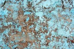 Blaue Farbenwand der Schalenfarbe Lizenzfreies Stockfoto