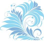 Blaue feenhafte Blume Stockfotografie