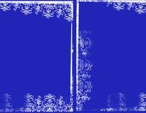 Blaue Felder stockbilder