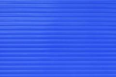 Blaue Fenster-Vorhänge Lizenzfreie Stockfotos