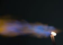 Blaue Feuerflammen Lizenzfreie Stockfotos