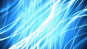 Blaue flüssige Streifen