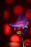 Blaue Flamme Lizenzfreie Stockfotografie