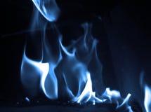 Blaue Flamme Stockbild