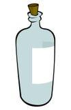 Blaue Flasche Lizenzfreies Stockbild