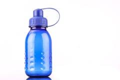 Blaue Flasche Stockbild