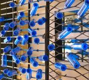 Blaue Flaschen stockbilder