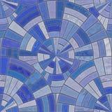 Blaue Fliesen stock abbildung