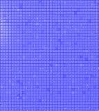 Blaue Fliesen mit Wasser-Tröpfchen Lizenzfreies Stockbild