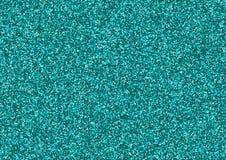 Blaue Funkelnbeschaffenheit, die aus kleinen Sternen besteht Lizenzfreie Stockfotografie