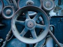 Blaue Gänge Stockfoto
