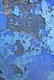Blaue gemalte Wand Lizenzfreie Stockfotografie