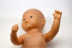 Blaue gemusterte Puppe Lizenzfreies Stockbild