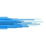 Blaue Gerade-Zusammenfassung auf hellem Hintergrund. Vektor Stockbilder