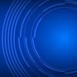 Blaue Geschäftshintergrunddarstellungs-Broschürenabdeckung Lizenzfreies Stockbild