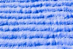 Blaue gestreifte Beschaffenheitsmuster Stockfotos