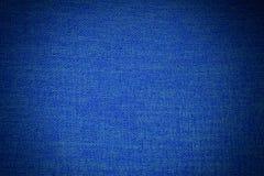 Blaue Gewebe-Beschaffenheit Stockfotos