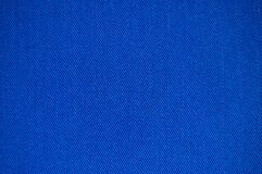 Blaue Gewebebeschaffenheit Lizenzfreies Stockfoto