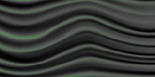 blaue, grüne und orange Farben elegante Satinbeschaffenheit des schwarzen Glanzes EPS10 vektor abbildung