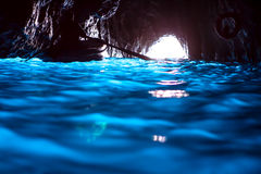 Blaue Grotte (Capri) Lizenzfreie Stockfotografie