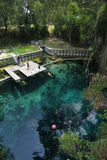Blaue Grotte - Draufsicht Lizenzfreies Stockbild