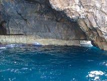 Blaue Grotte von Malta Stockfotografie