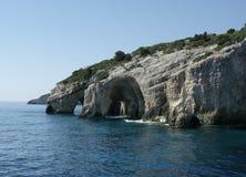 Blaue Höhlen Lizenzfreies Stockfoto