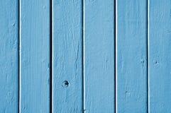 Blaue hölzerne Beschaffenheit Lizenzfreies Stockbild