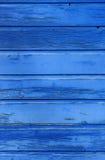 Blaue hölzerne Beschaffenheit Stockbilder