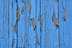 Blaue hölzerne Beschaffenheit Alte hölzerne Beschaffenheit Lizenzfreies Stockbild